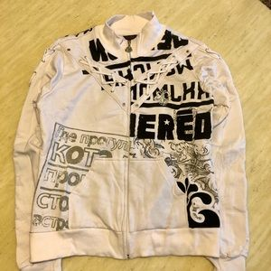 New Dereon Printed Bomber Jacket Size L/XL